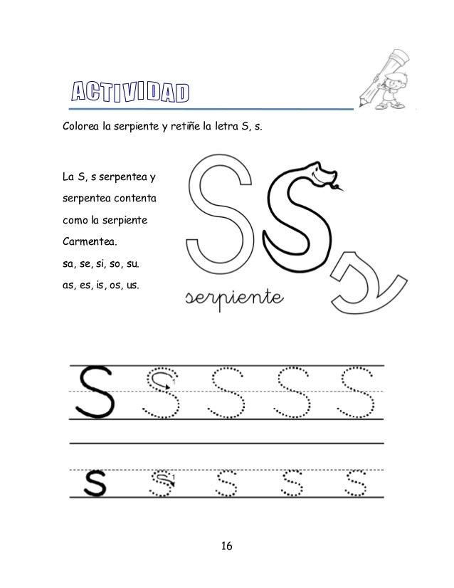 Atractivo Letra S Para Colorear Serpiente Ideas - Dibujos Para ...