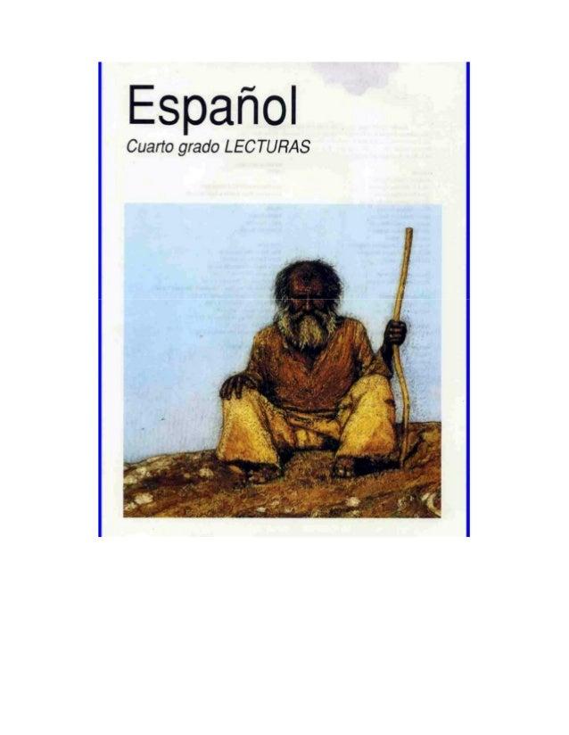 Español lecturas cuarto grado 93