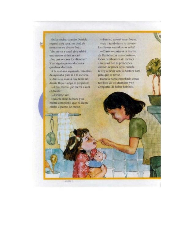 Español tercer grado lecturas