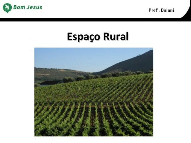 Espaço RuralEspaço Rural