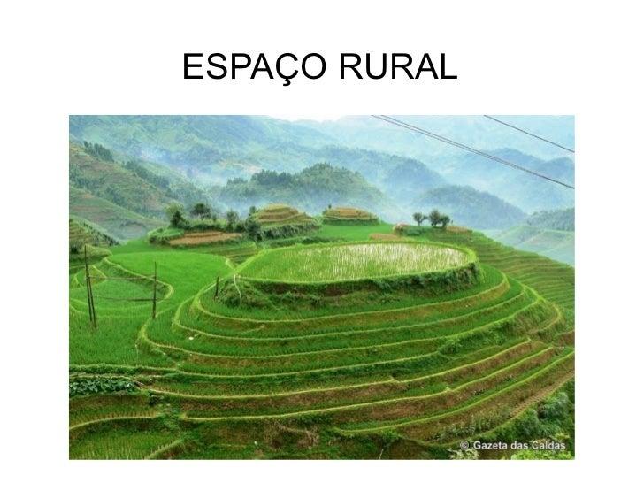 ESPAÇO RURAL