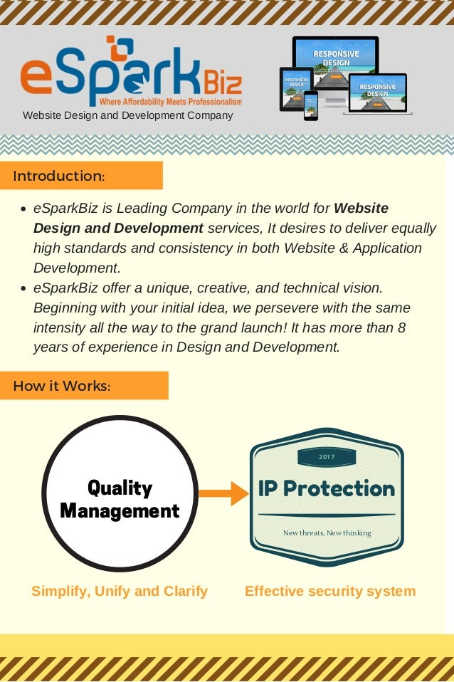 Website Design and Development Company Introduction: eSparkBiz is Leading Company in the world for Website Design and Deve...