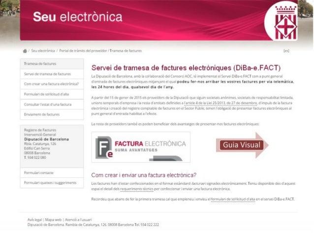 11 Visualització de les factures electròniques