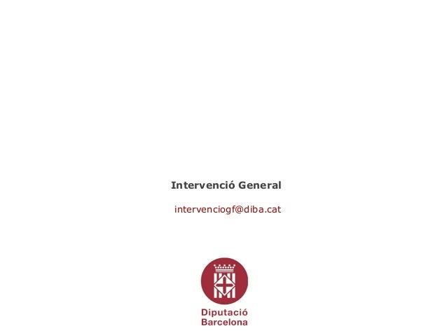 Factura electrònica - Intervenció General Diputació de Barcelona - Jordi A. Espasa 5/05/2015