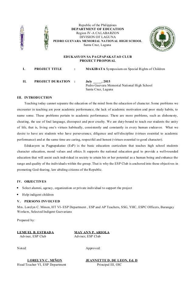 School Club Proposal Template Ukrandiffusion