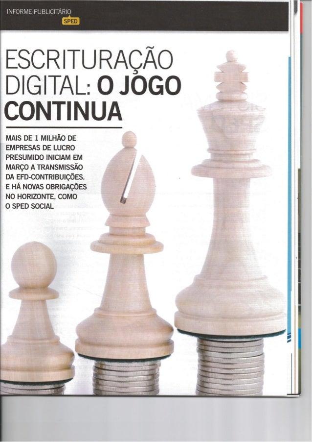 Especial EFD Social – Revista EXAME – janeiro 2013