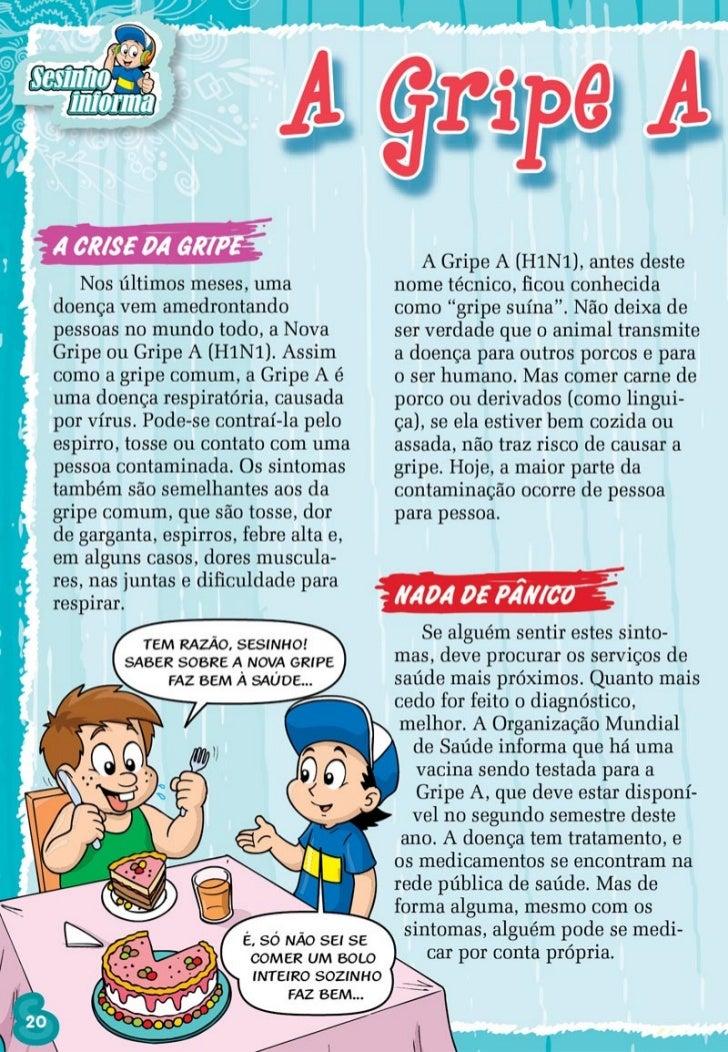 SESINHO TODOS CONTRA A GRIPE