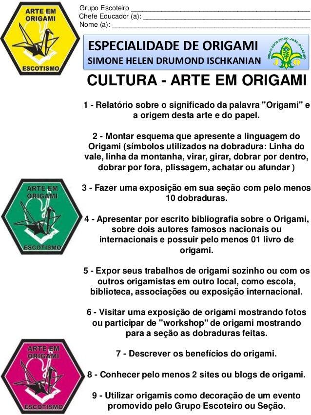 origamis e seus significados