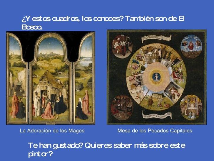 Especial museo del prado 1 - La mesa de los pecados capitales ...