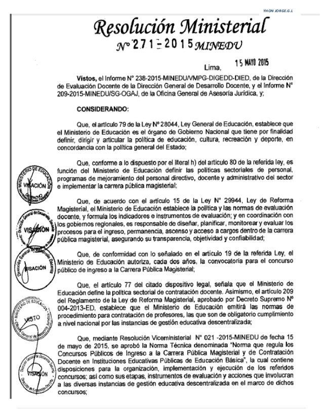 Tecnicas del concurso de nombramiento 2015 y contrato for Concurso meritos docentes 2016