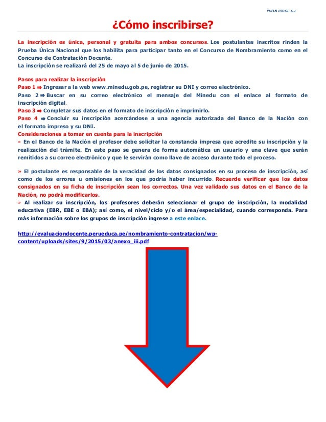 Contratacion docente inscripcion 2015 autos post for Concurso de docentes 2016