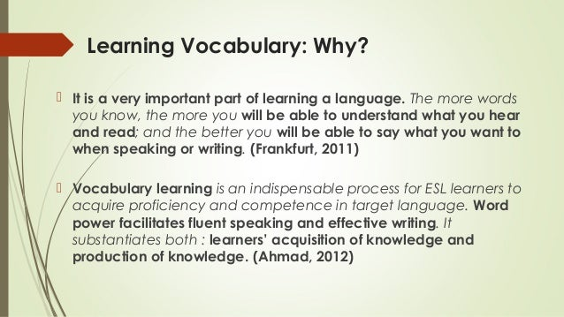 Teaching Strategies: 5 Ideas for Instructing Vocabulary