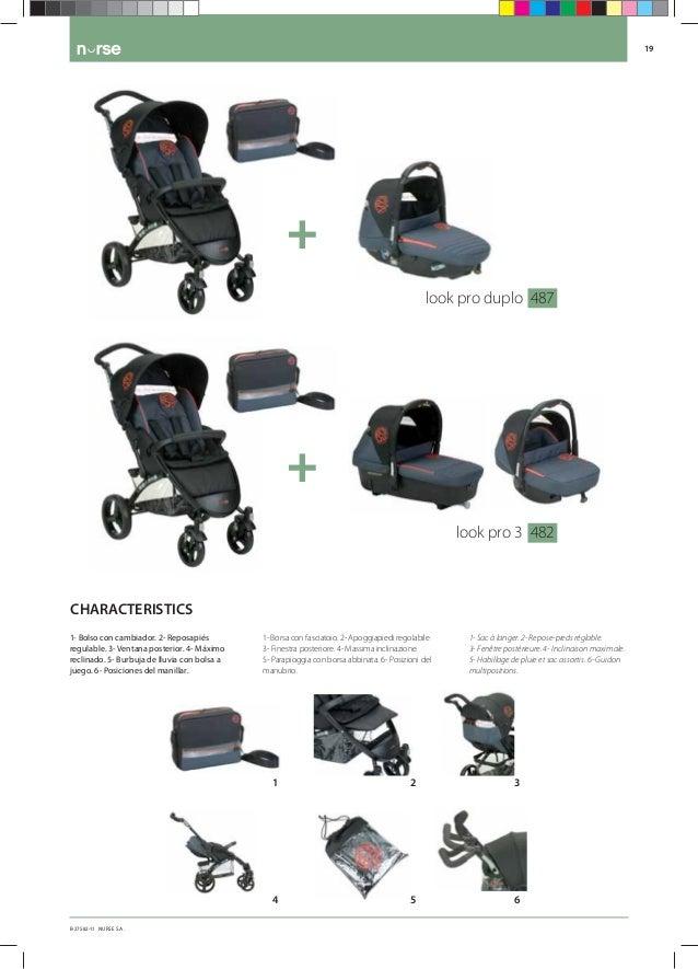 Catálogo de Nurse puericultura  Coches y sillas para Bebe