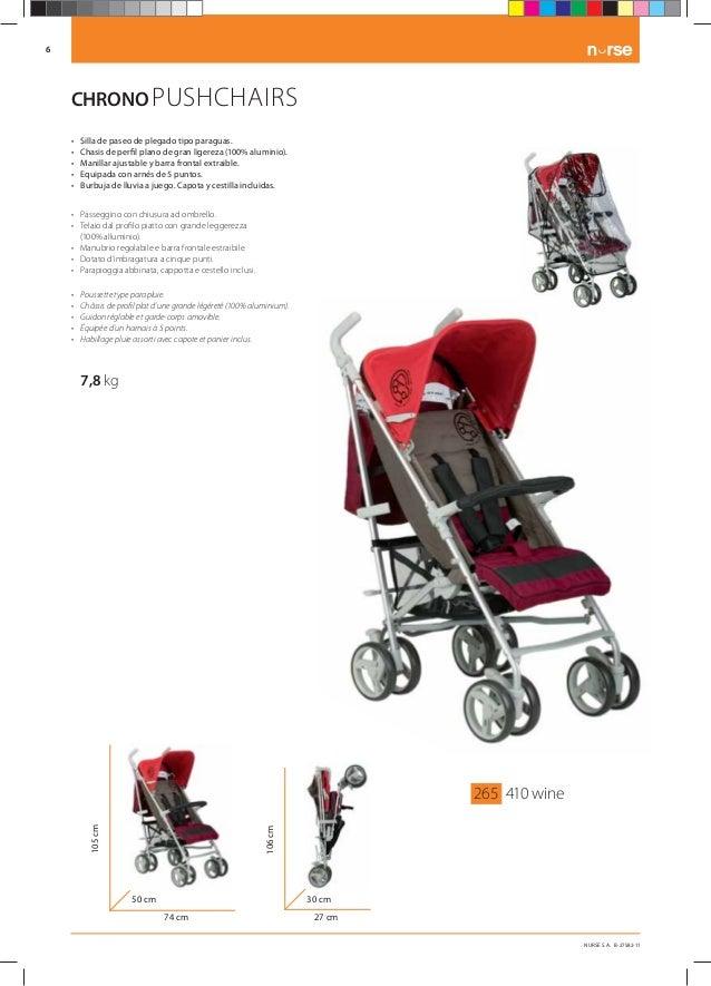 30545dcfd Catálogo de Nurse puericultura. Coches y sillas para Bebe