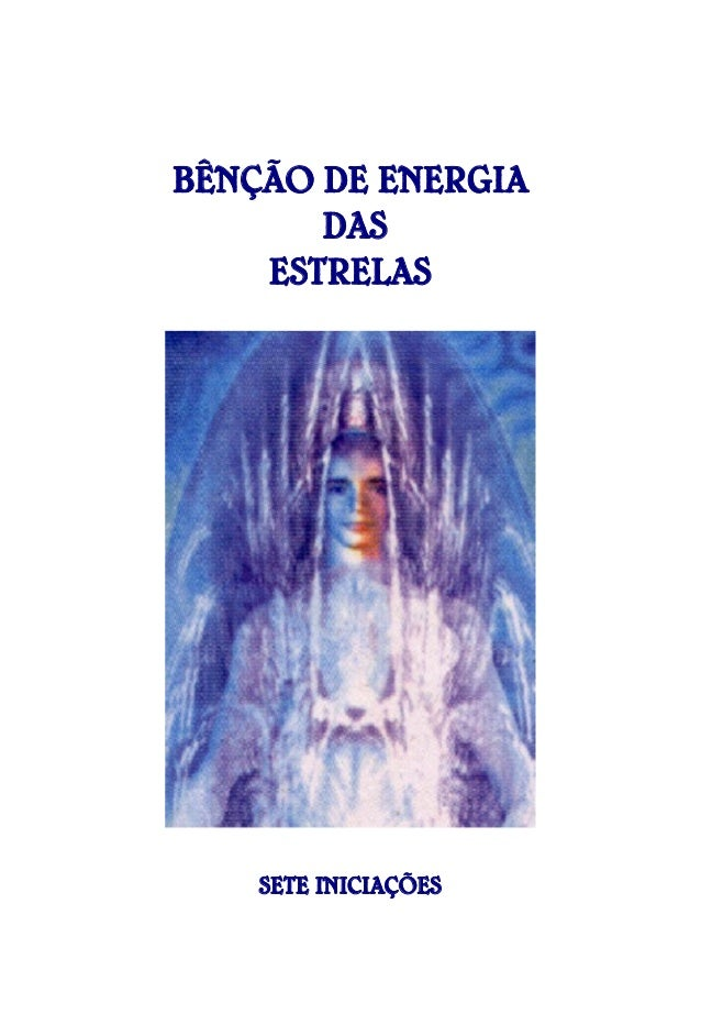 BÊNÇÃO DE ENERGIA DAS ESTRELAS  SETE INICIAÇÕES