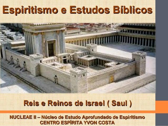 Espiritismo e Estudos BíblicosEspiritismo e Estudos Bíblicos NUCLEAE II – Núcleo de Estudo Aprofundado de EspiritismoNUCLE...