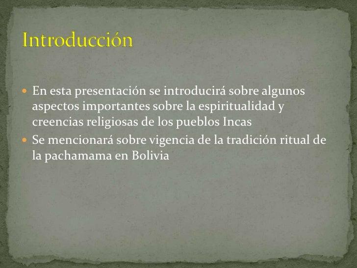 Espiritualidad incas Slide 2