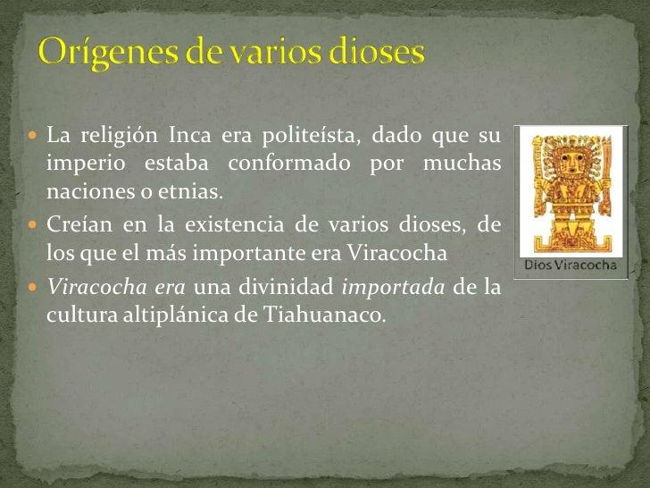 Espiritualidad incas Slide 3