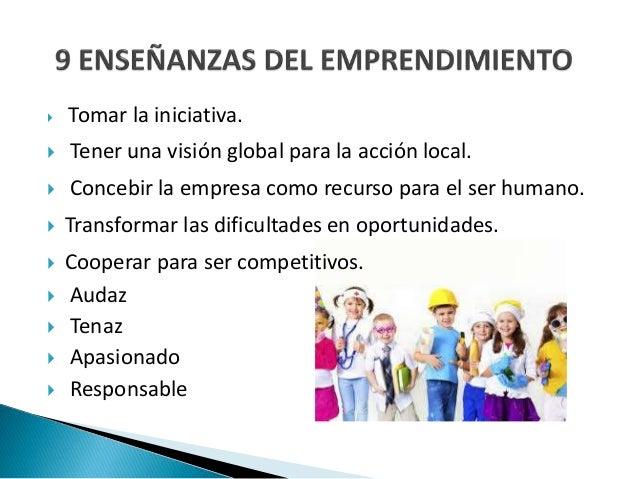 Espiritu emprendedor y empresarial  Slide 3