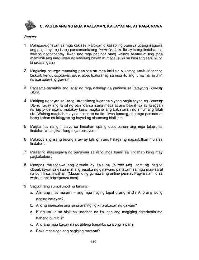 Module pdf quarter 3rd 4th grade and esp 7