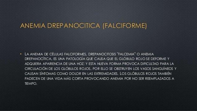 """ANEMIA DREPANOCITICA (FALCIFORME) • LA ANEMIA DE CÉLULAS FALCIFORMES, DREPANOCITOSIS """"FALCEMIA"""" O ANEMIA DREPANOCÍTICA, ES..."""