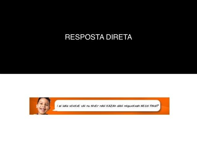 RESPOSTA DIRETA