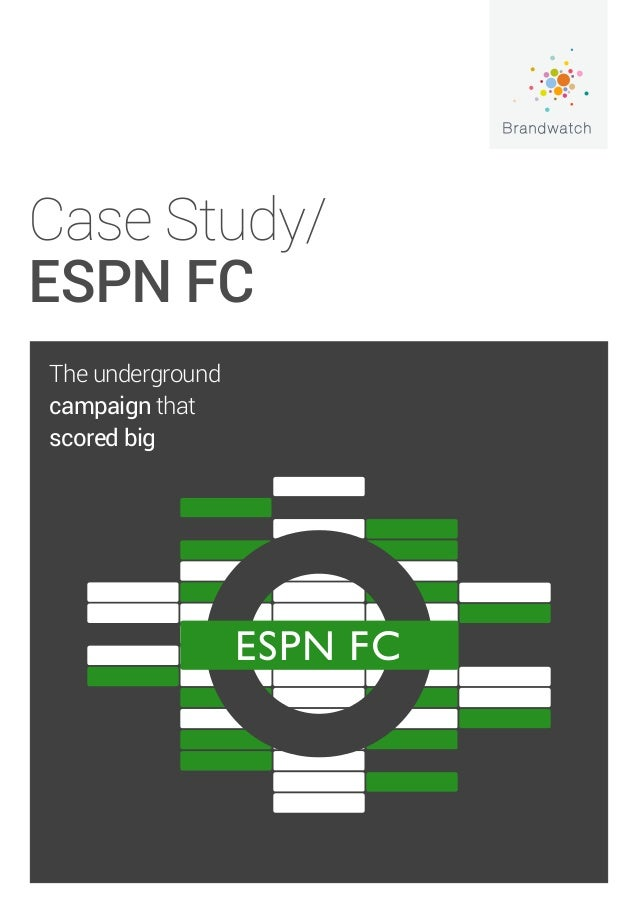 espn case study This is a case study about the possible community formation on the website wwwsoccernetcom the aim of the case study is to determine whether or.