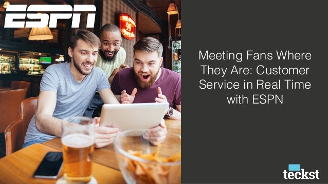 Meeting Fans Where They Are: Customer Service in Real Time