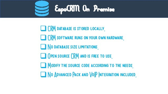 Espo crm : An Overview