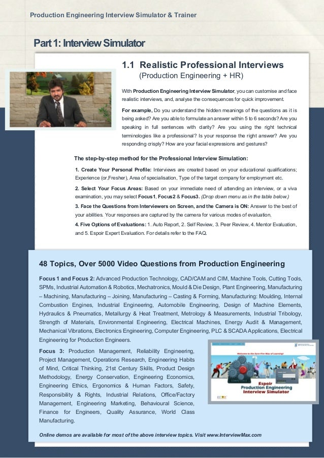 3 with production engineering - Production Engineering Job