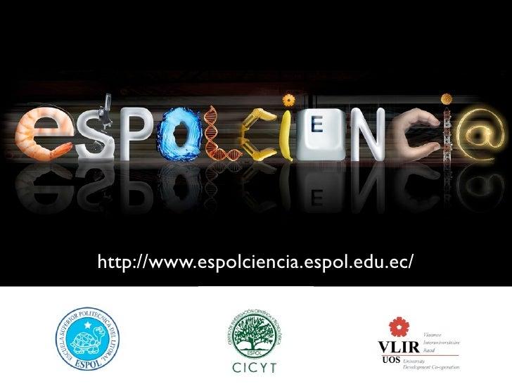 http://www.espolciencia.espol.edu.ec/
