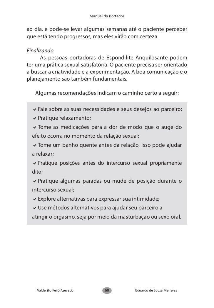 Manual do Portadorde fácil entendimento, relacionadas às ações e movimentosrelevantes para avaliar a função dos pacientes ...