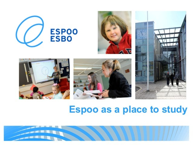 Espoo as a place to study