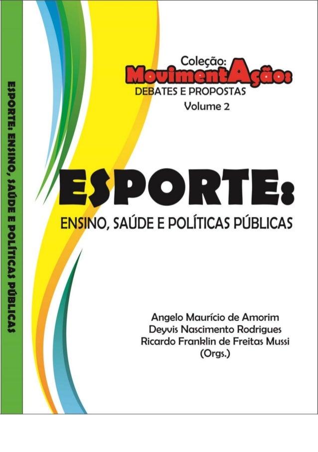 a8345b08d Esporte ensino -saúde e políticas públicas
