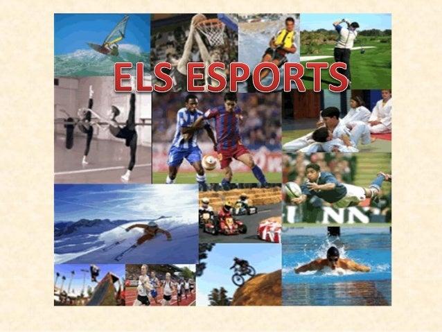 • En el seu sentit més ampli, lesport és qualsevol joc oactivitat de lleure, basada en un reglament estricte ique procura ...