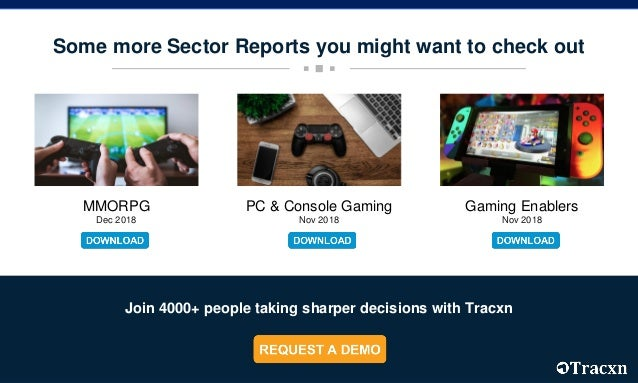 Tracxn - eSports Startup Landscape