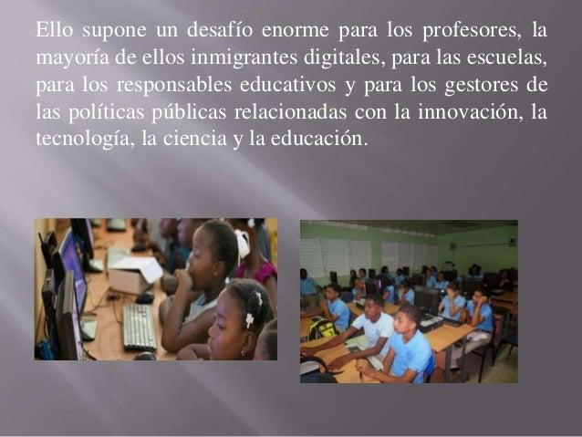 Es posible la revolución educativa sin la integración Slide 3