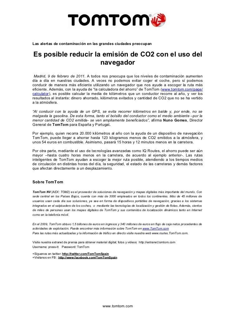 Las alertas de contaminación en las grandes ciudades preocupanEs posible reducir la emisión de CO2 con el uso del         ...
