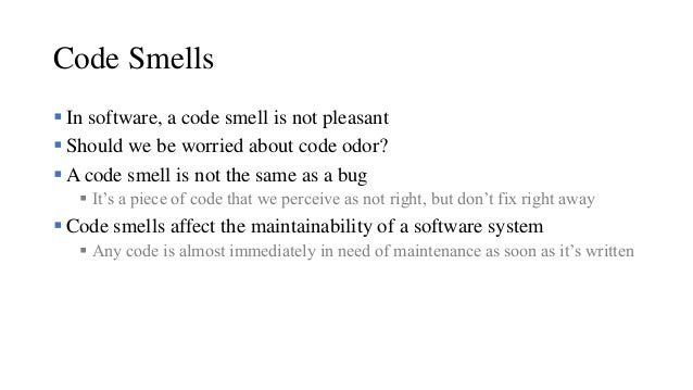 .NET Fest 2018. Dino Esposito. Refactoring and Code Smells Slide 3