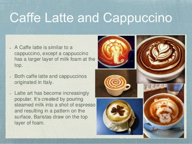 Espresso Cafee Latte Cappuccino Noelle S