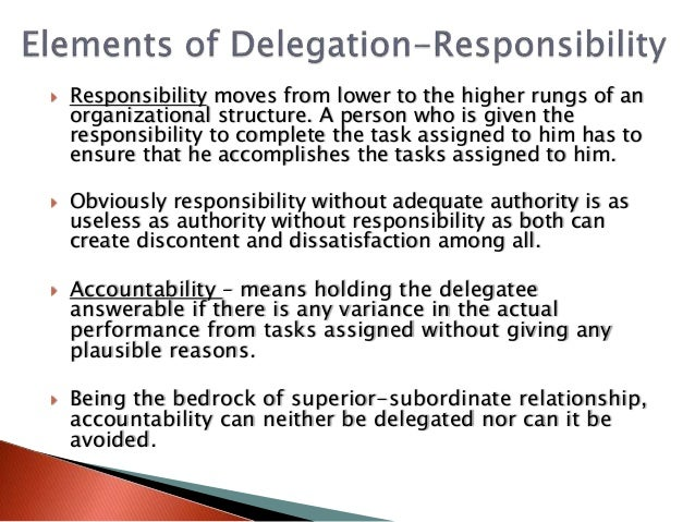 8 Cs Of Delegation Of Authority Essential Skill For Public Managemen