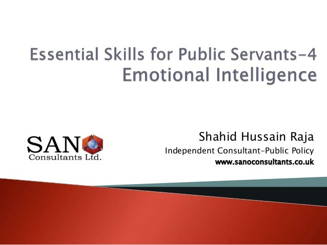 Shahid Hussain RajaIndependent Consultant-Public Policywww.sanoconsultants.co.uk