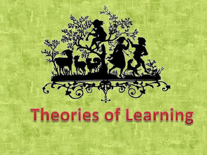 Theories of Learning<br />