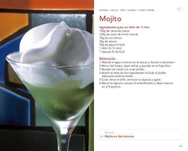Espumas el bulli ebook spanish - Espuma de limon ...