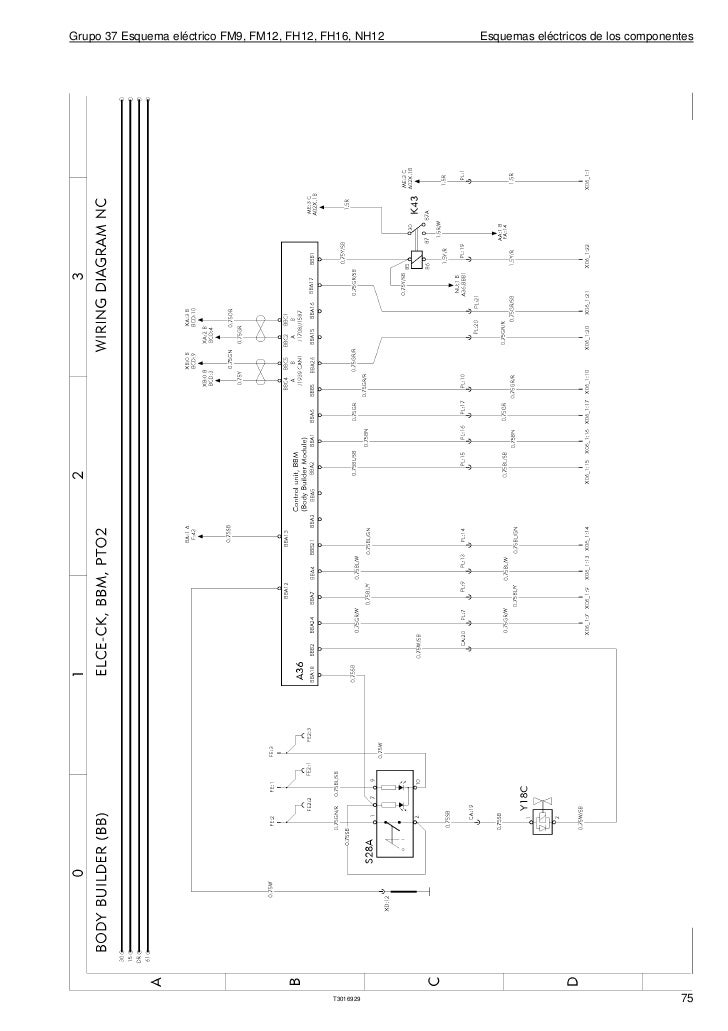 Wiring Diagram Volvo Fh16 : Volvo wiring diagrams fm fh nh repair