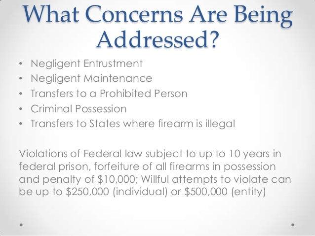 NFA Firearm PPT