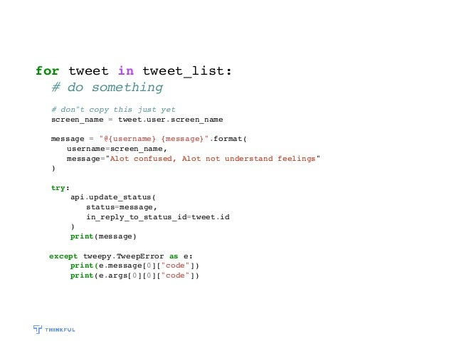 Build a Twitter Bot with Basic Python