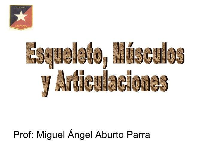 Prof: Miguel Ángel Aburto Parra