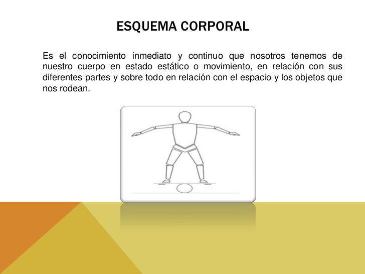 ELEMENTOS QUE COMPONEN                  EL ESQUEMA CORPORAL                        Concepto    Imagen                     ...
