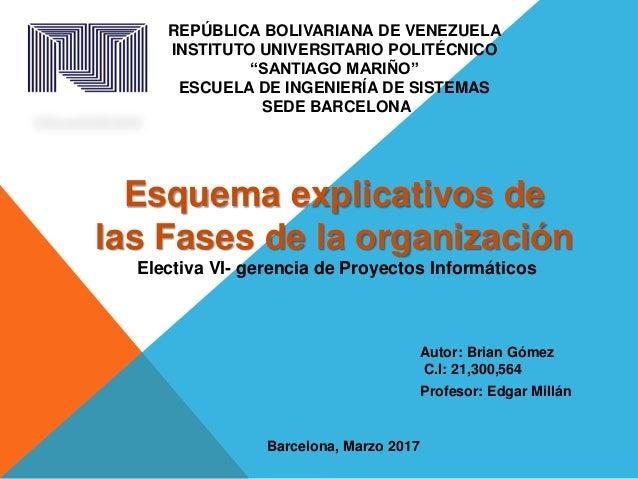 """REPÚBLICA BOLIVARIANA DE VENEZUELA INSTITUTO UNIVERSITARIO POLITÉCNICO """"SANTIAGO MARIÑO"""" ESCUELA DE INGENIERÍA DE SISTEMAS..."""
